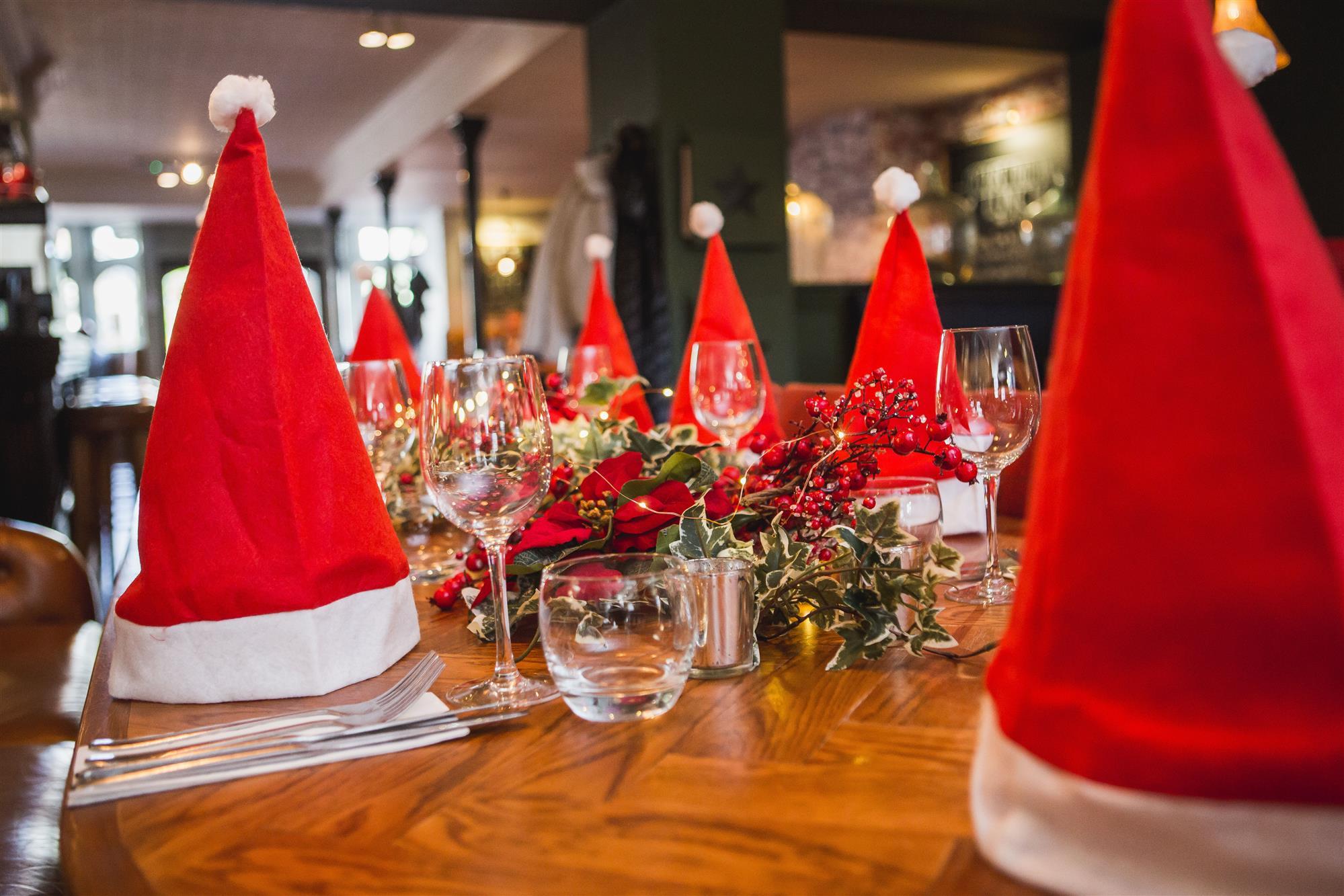 Hospitality Work During Christmas