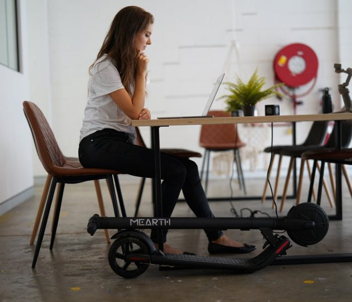 Getting an e-scooter – student experience