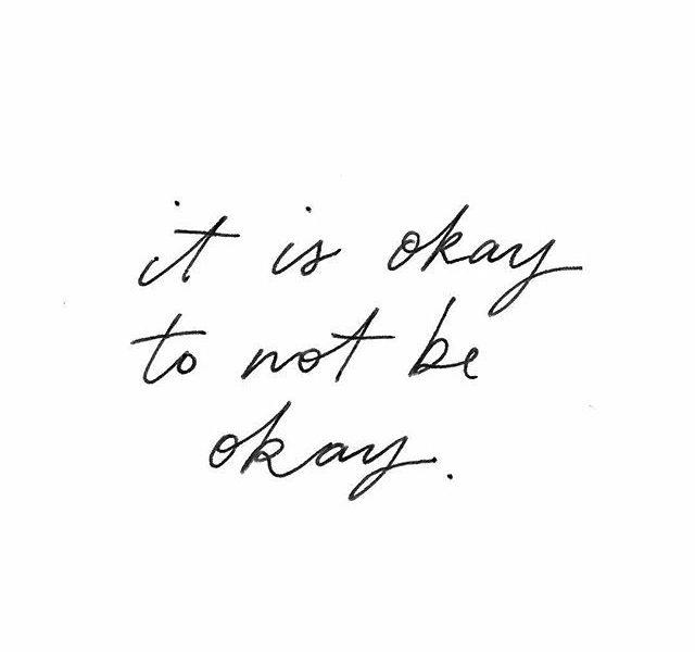 It's okay…