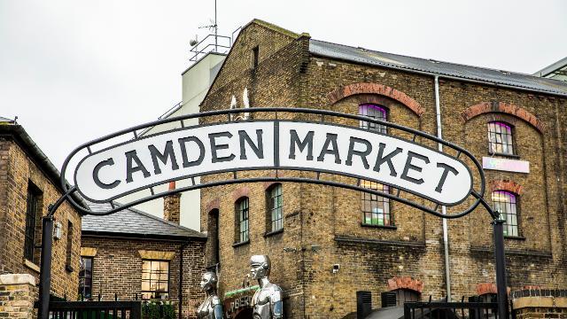 A Day in Camden Market!