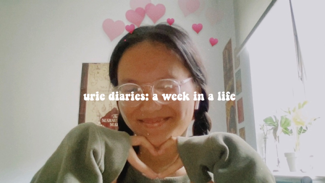 Urie Diaries: A Week In My Life